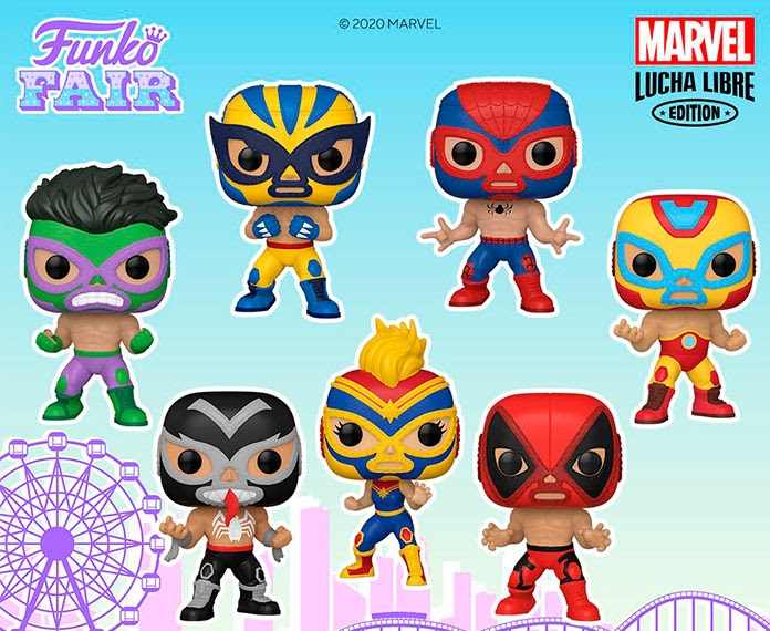 funko pop de Marvel Lucha Libre