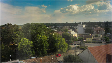 Photo: Str. Basarabiei, Nr.44 - Salis Hotel & Medical Spa, vedere panorama  - 2017.08.17 Album cu panorame: http://ana-maria-catalina.blogspot.ro/2011/04/panorame-realizate-de-pe-dealul-cu.html