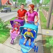 Virtuelle Mutter New Baby Twins Familiensimulator