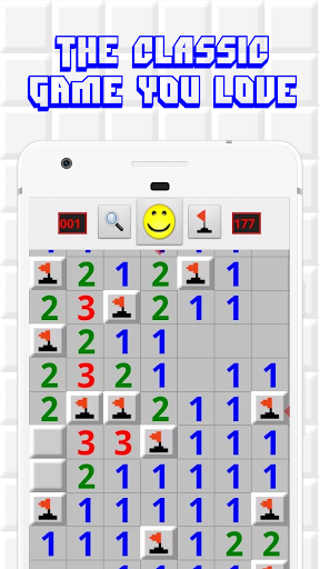 Minesweeper for Android - Free Mines Landmine Game 2.6.27 screenshots 1