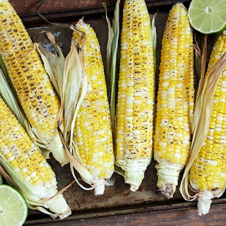 Grilled Corn with Spicy Aioli