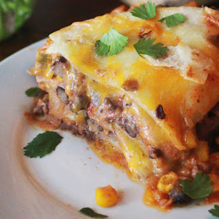 Taco Casserole With Flour Tortillas Recipes