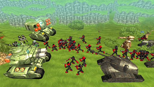 Stickman Tank Battle Simulator 1.06 screenshots 3