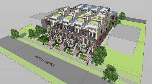 20-Unit Townhouse Project Slated for West 32nd