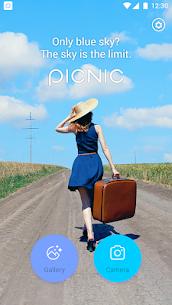 PICNIC – photo filter for dark sky, travel apps 1