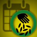 Planting calendar - vegetables icon
