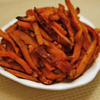 Baked Barbecue Sweet Potato Fries