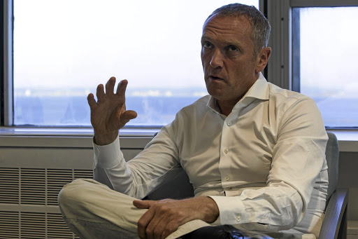 Bob van Dijk: Naspers remains committed to SA. Picture: Bloomberg/Halden Krog