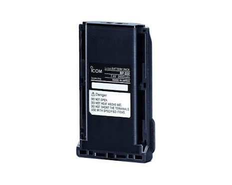 Icom Batteri BP-232H Li-Ion 2250 mAh.