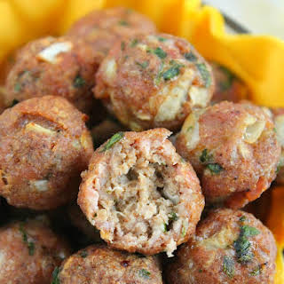 Healthy Baked Meatballs.