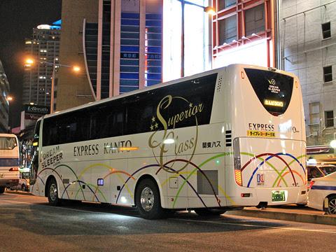 関東バス「ドリームスリーパー東京大阪号」 ・・・1 リア