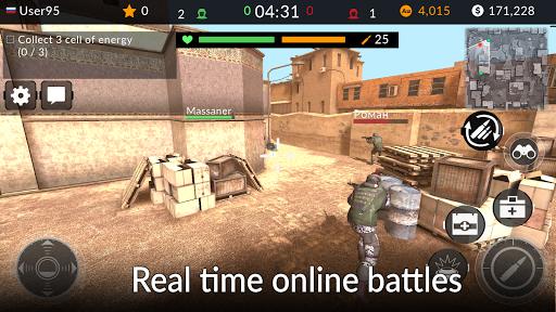 Code Triche Code of War: Shooter Online APK MOD screenshots 2