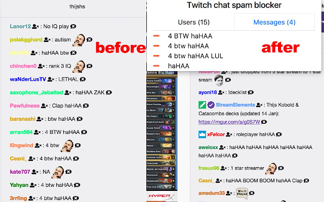Twitch Chat Blocker