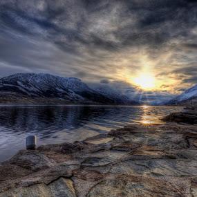 Sørfjorden 28.11.2017 by Sigbjørn Fjellheim - Landscapes Sunsets & Sunrises ( hardanger )