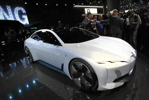 BMW revealed its i-Vision Dynamics concept which is likely to become the i4. Picture: NEWSPRESS UK
