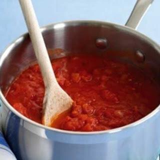 Freeze-ahead Tomato Sauce.
