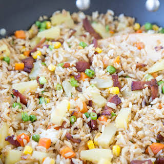Bacon & Pineapple Fried Rice.