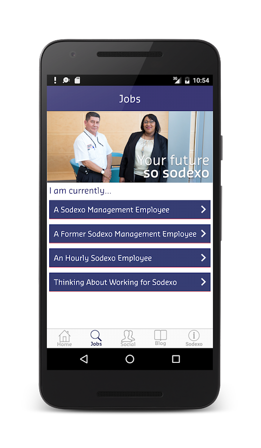 Sodexo Jobs- screenshot