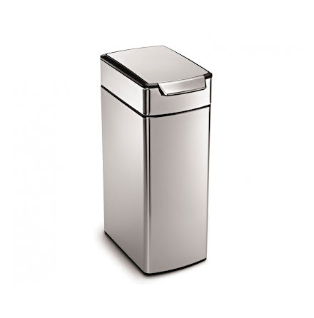 Soptunna med Touchbar Smal Simplehuman CW2016  40 liter