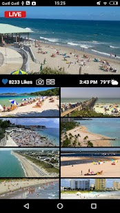 Earth Live Cam - Public Webcams Online Screenshot