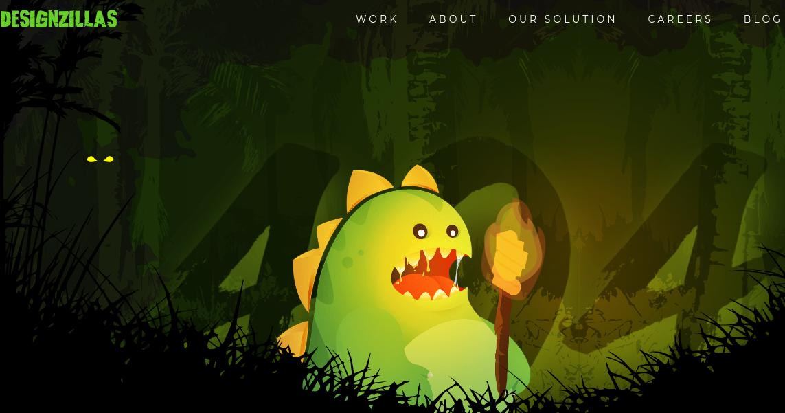 Оформление страницы 404 ошибки в анимацинном стиле