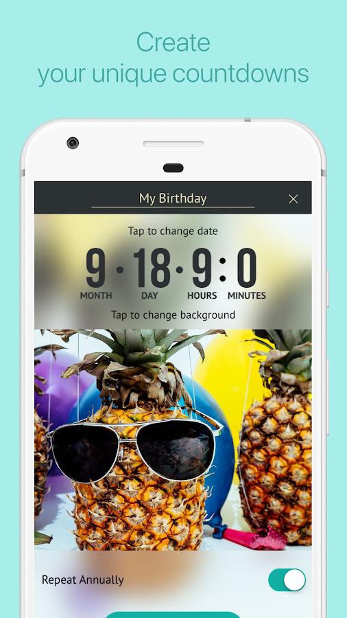 Famoso My Day - Conto alla Rovescia - App Android su Google Play GS74