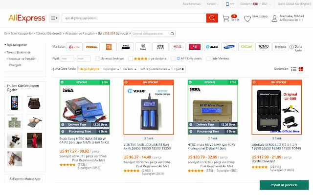 Aliexpress Dropship - Chrome 网上应用店