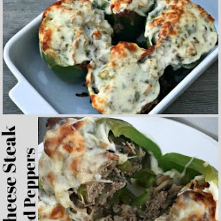 Philly Cheese Steak Stuffed Peppers Recipe
