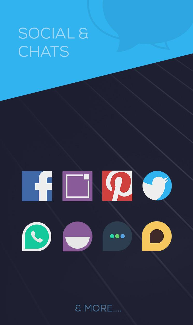 Minimalist - Icon Pack Screenshot 4
