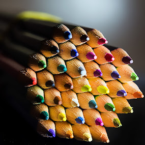 colored pen by William Ay-Ay - Products & Objects Education Objects