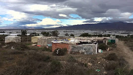 Imagen de archivo de chabolas en Níjar.