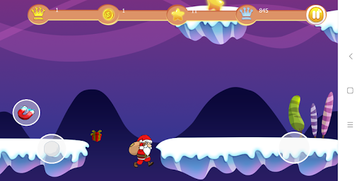 Foto do Santa Claus Run .Christmas world