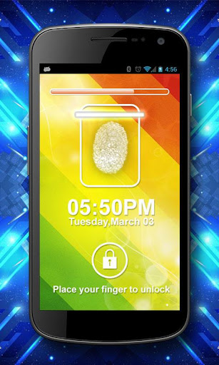 【免費娛樂App】Finger Print Scanner Prank-APP點子