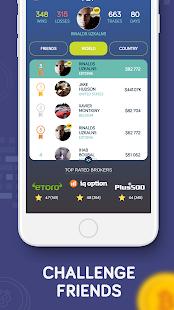 Bitcoin Flip - Bitcoin Trading game Screenshot