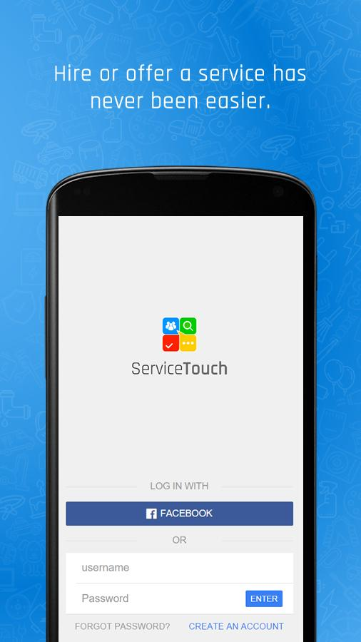 ServiceTouch (Service Touch)- screenshot