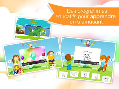 Tiny Kids: jeux&dessins animés – Vignette de la capture d'écran