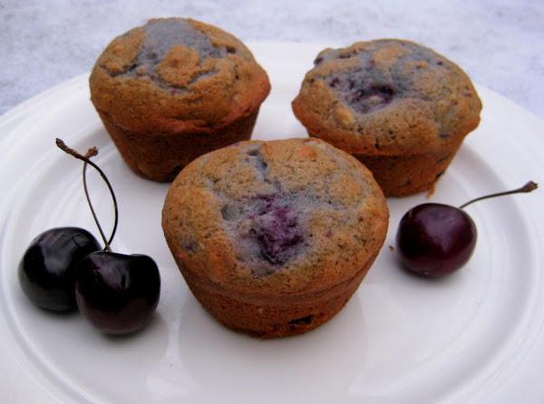 Fresh Cherry Pecan Muffins Recipe