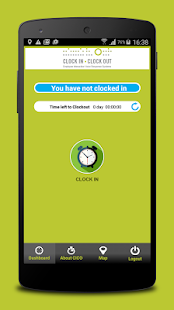 CLOCK IN CLOCK OUT- screenshot thumbnail