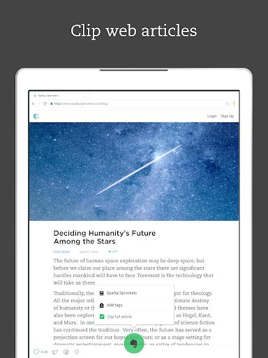 Evernote – Organizer, Planner, Notebook screenshot 9