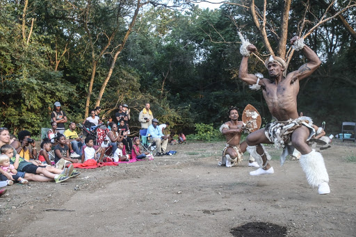 Captivating Zulu performance at STEPFEST on Kingman Island