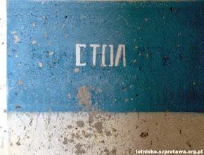 Photo: Napisy w jednym ze schronohangarów