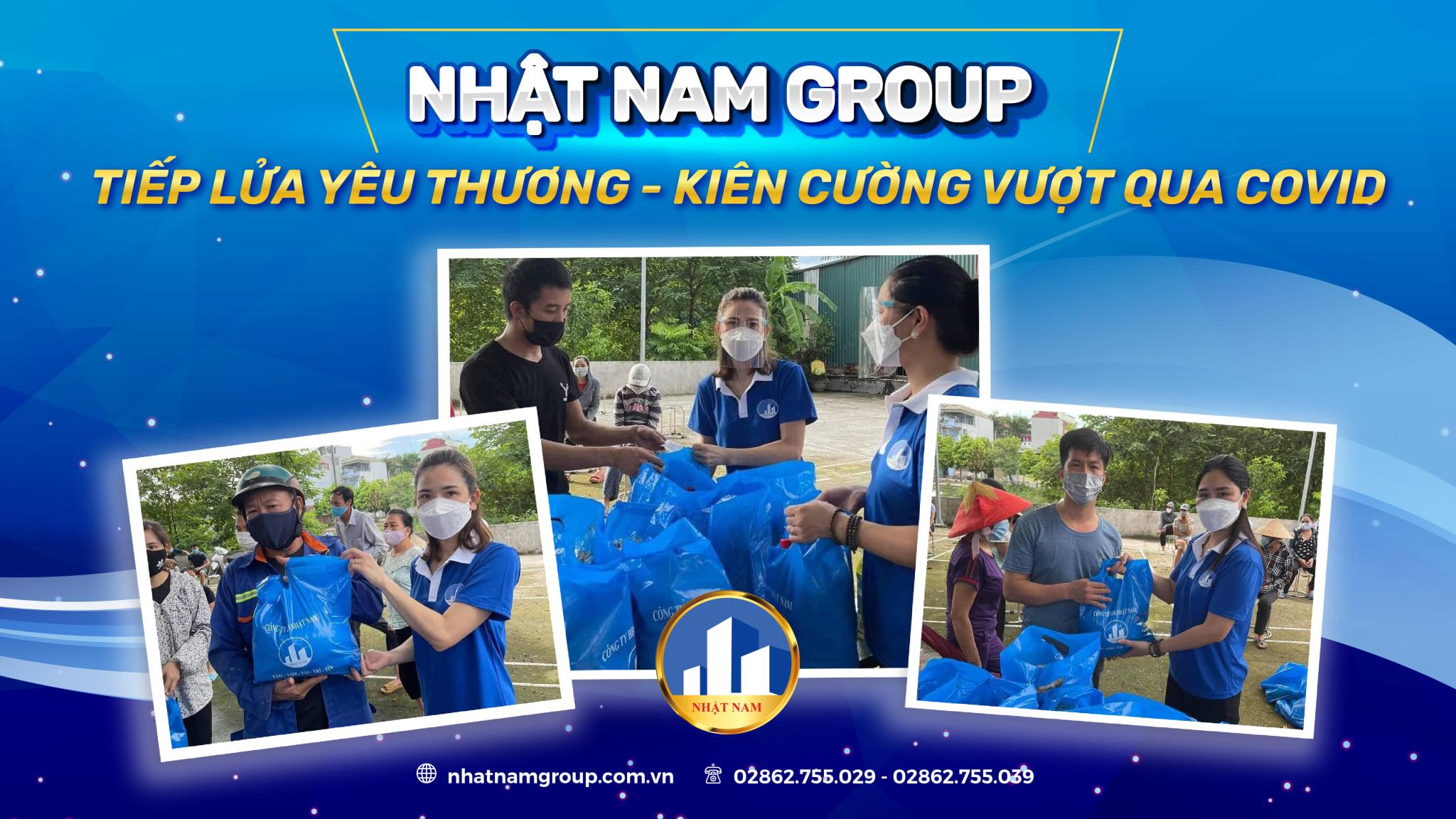 Nhật Nam Group đồng hành cùng cộng đồng vượt qua Covid