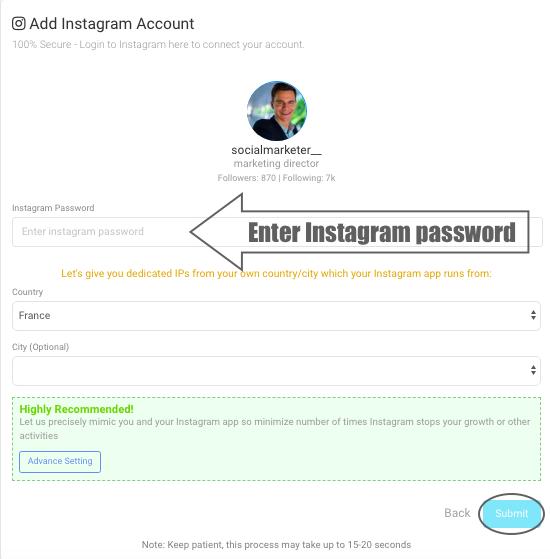 AiSchedul add account