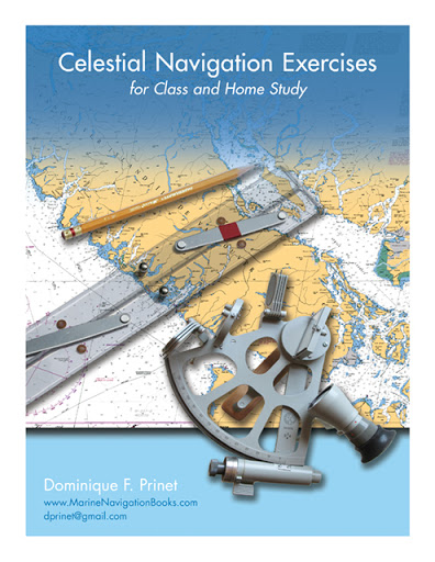 Celestial Navigation Exercises for Class and Home study cover