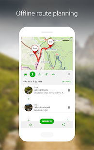 Mapy cz - Cycling & Hiking offline maps for PC / Windows 7