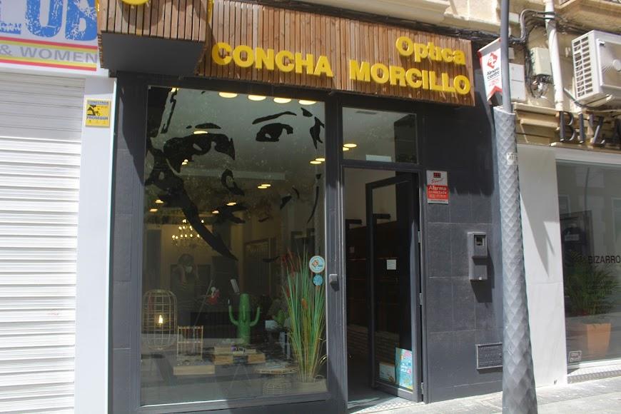 Óptica Concha Morcillo, ubicada en la calle Reyes Católicos.