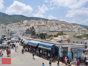 Photo: the picturesque town of Moulay Idriss in Northern Morocco named after Moulay Idris I, the founder of the Idrisid Dynasty