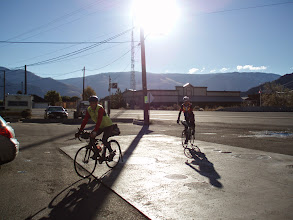 Photo: First control in Keremeos.