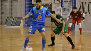 Juan Emilio, durante un partido con el Peñíscola Rehabmedic.