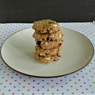 No Bake White Chocolate Cranberry Cookies #CreativeCookieExchange